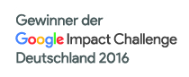 Our project is winner of Google Impact Challenge Germany 2016